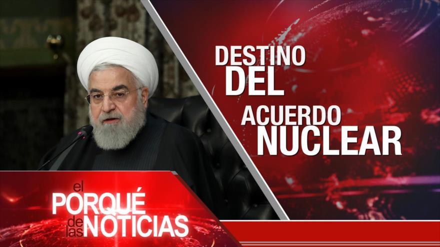 El Porqué de las Noticias: Acuerdo Nuclear. Guerra en Yemen. Elecciones en El Salvador