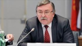 Rusia: Medidas europeas contra Irán ponen en peligro pacto nuclear