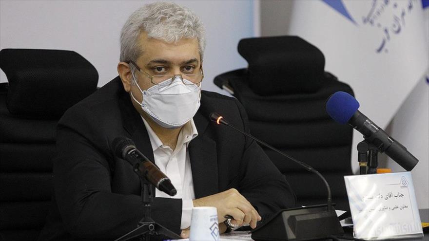 El vicepresidente iraní para Ciencia y Tecnología, Sorena Sattari.