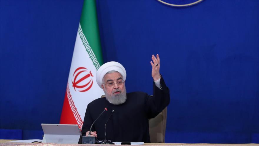 Rohani: A EEUU le falta seriedad para levantar las sanciones