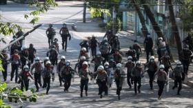Mueren 9 manifestantes en protestas contra junta militar de Myanmar