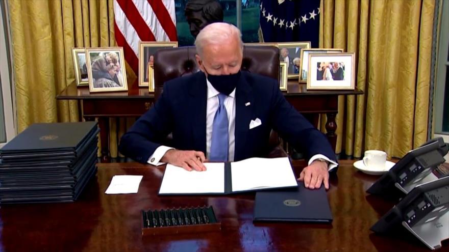 Biden revoca prohibición de visas introducida por Trump
