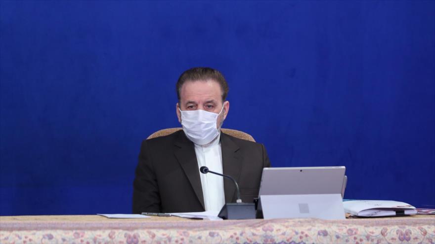 El jefe del Gabinete del presidente iraní, Mahmud Vaezi, en un acto en Teherán, 3 de marzo de 2021. (Foto: President.ir)