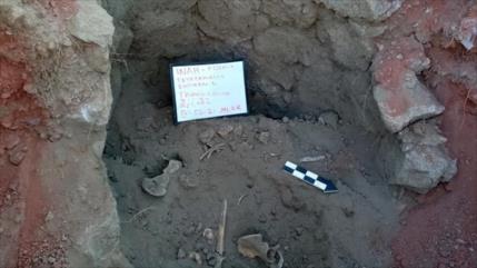 Arqueólogos hallan primera tumba troncocónica en México