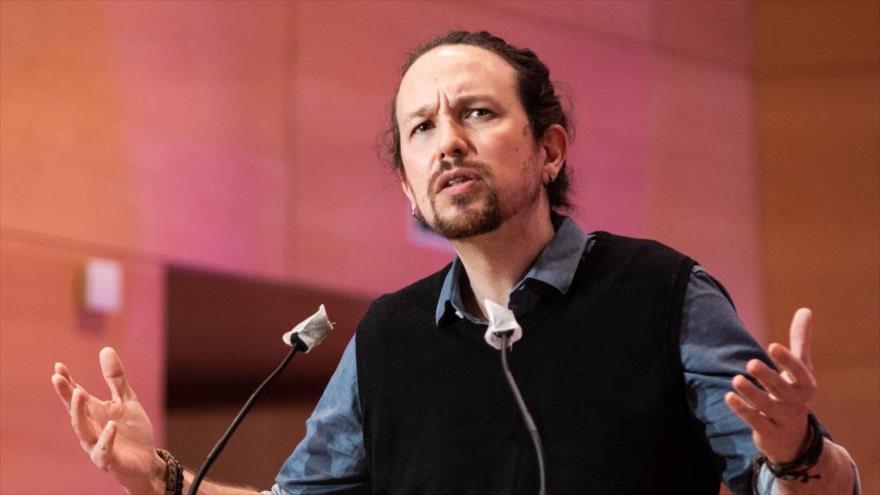 "Iglesias ve un ""horizonte republicano"" por corrupción de Casa Real | HISPANTV"