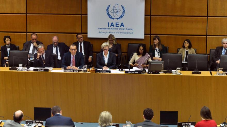 Una reunión de la Junta de Gobernadores de la Agencia Internacional de Energía Atómica (AIEA).