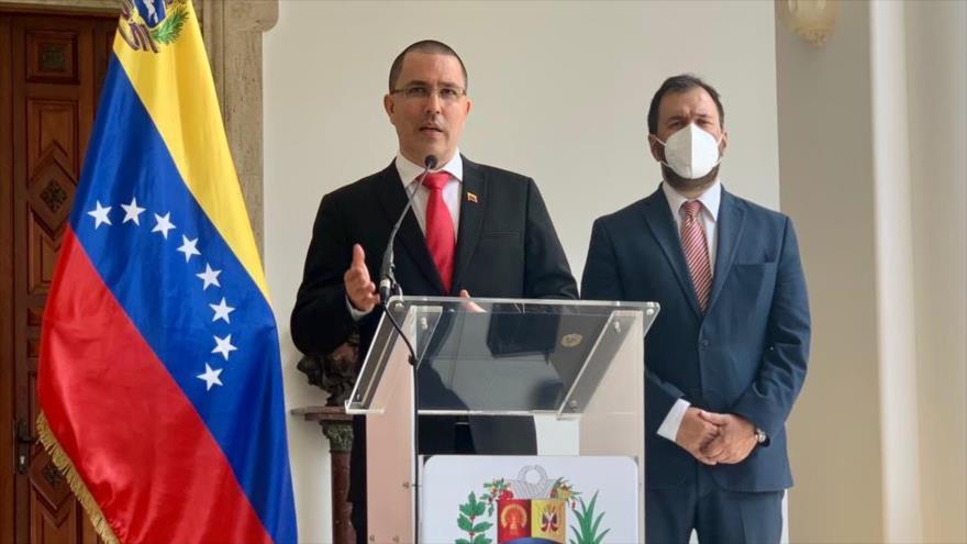 El ministro de Exteriores de Venezuela, Jorge Arreaza. (Foto: Cancillería de Venezuela)