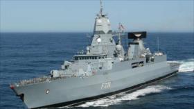 Alemania contenta a EEUU al enviar fragata al mar del Sur de China