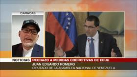 """Romero: Biden sigue la misma política """"prejuiciosa"""" contra Venezuela"""
