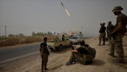 Fuerzas populares arrebatan a Daesh 25 aldeas en norte de Irak