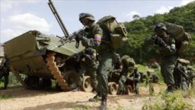 Venezuela arranca una maniobra militar ante amenazas externas