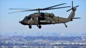 Japoneses piden cese de peligrosos vuelos de helicópteros de EEUU