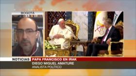 Amature: Visita de Papa a Irak podrá resaltar lazo interreligioso