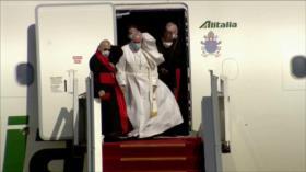 Papa en Irak. Ataque de represalia yemení. Corrupción en Venezuela - Boletín: 16:30 - 05/03/2021