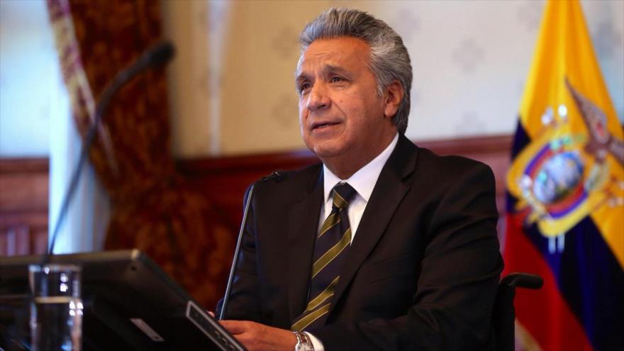 El presidente de Ecuador, Lenin Moreno.