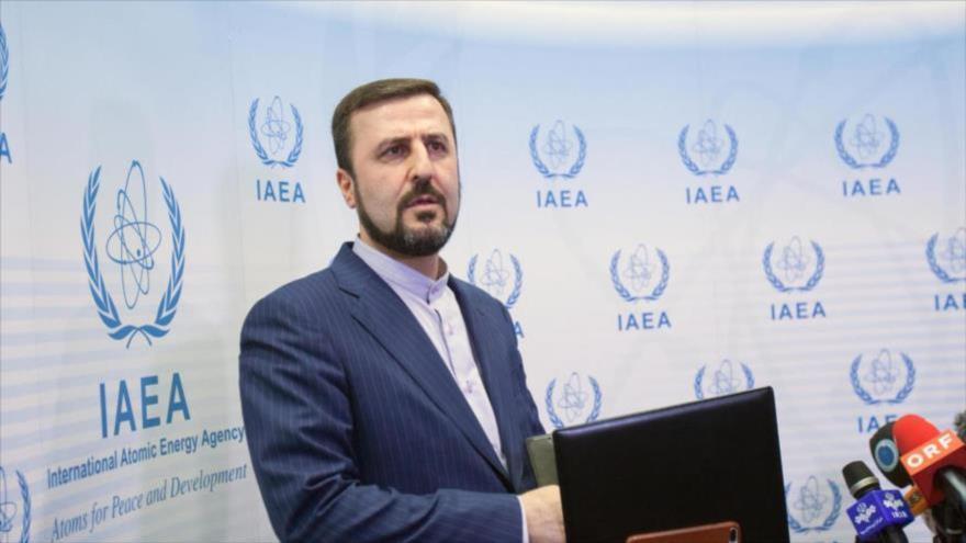 El embajador iraní ante las organizaciones internacionales radicadas en Viena, Kazem Qaribabadi.