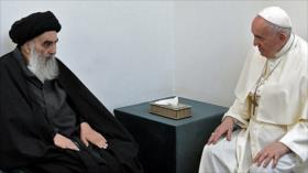 El papa Francisco se reúne con ayatolá Sistani en Nayaf, Irak