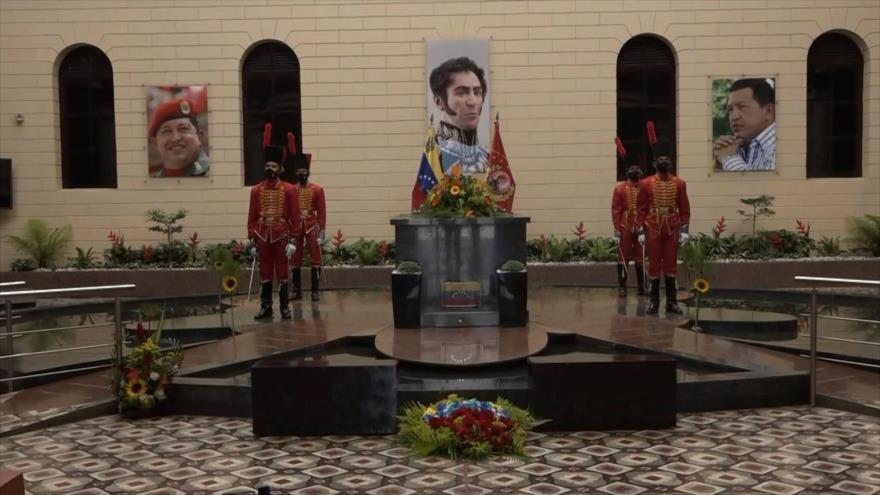 Rinden homenaje a Hugo Chávez a 8 años de su muerte