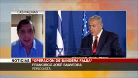 Saavedra: Explosión de barco israelí parece ser de bandera falsa