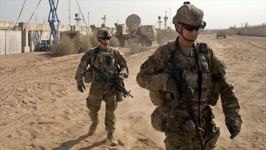 Soldados estadounidenses en una base en Qayara, a unos 50 kilómetros al sur de Mosul, Irak, 9 de noviembre de 2016. (Foto: AP)