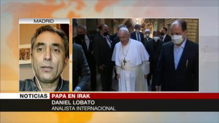 """""""Papa Francisco atacó dominación de EEUU al reunirse con Sistani"""""""