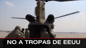No a tropas de EEUU. Reunión Sistani-Papa. Crisis en Paraguay - Boletín: 21:30 - 06/03/2021