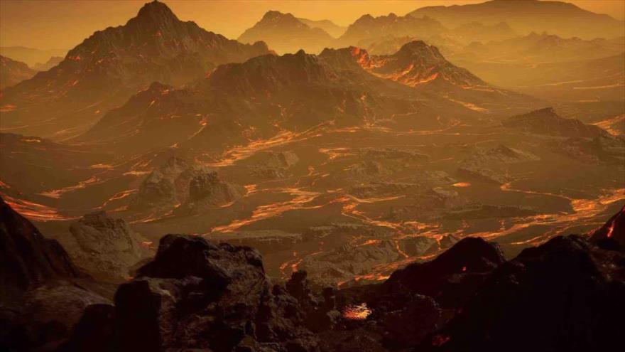 La foto publicada del nuevo exoplaneta Gliese 286b.