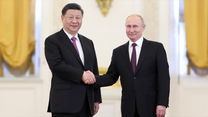 RUSIA Y CHINA MAS UNIDOS POR PRESION DE OCCIDENTE