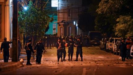 """""""Fuera Marito"""": 8 detenidos en marcha antigubernamental en Paraguay"""