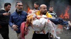 Minas escondidas por terroristas matan a 18 civiles en Hama, Siria