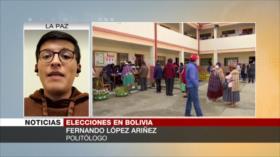 ''MAS, única fuerza nacional de Bolivia ante oposición fragmentada'
