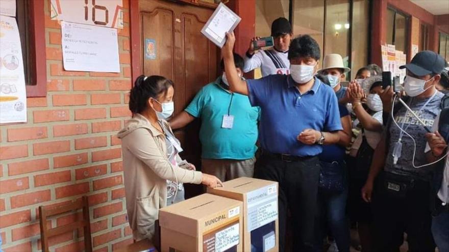 Morales: Comicios han consolidado la democracia en Bolivia