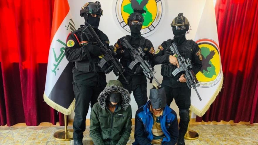 Las Fuerzas Armadas arrestan a 6 terroristas de Daesh en las provincias de Solimania, Al-Anbar y Bagdad.