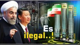 Detrás de la Razón: Canciller chino exige a Washington el regreso inmediato al acuerdo nuclear iraní