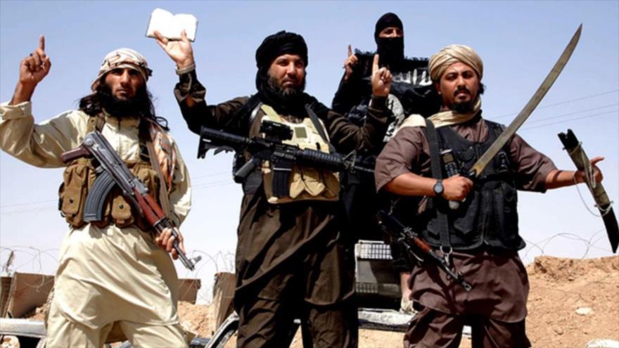 Integrantes del grupo terrorista Daesh.