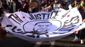 Masiva marcha previo al juicio del policía que mató a George Floyd