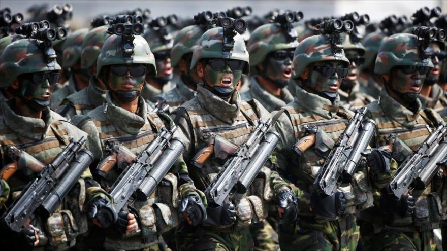 """""""Pyongyang, listo ante toda amenaza con 200 000 fuerzas especiales""""   HISPANTV"""