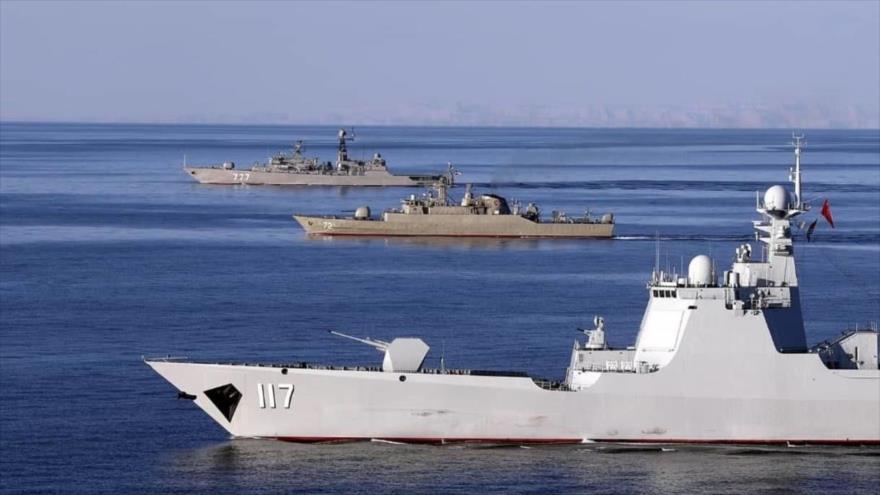 Irán realizará más ejercicios navales conjuntos con Rusia y China | HISPANTV