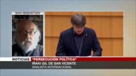 Gil de San Vicente: España busca la extradición de líderes catalanes