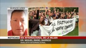 Barrios: Eliminar violencia contra la mujer es un proceso cultural