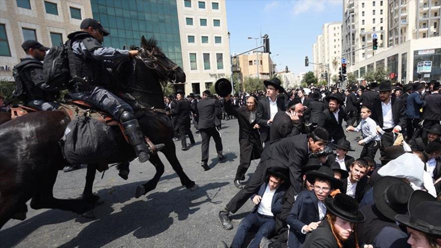 Presagian una 'guerra civil' en Israel por divisiones internas | HISPANTV