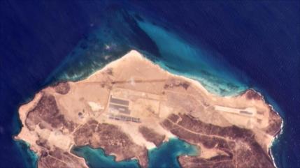 """Fotos revelan construcción de una base """"emiratí"""" en Yemen"""
