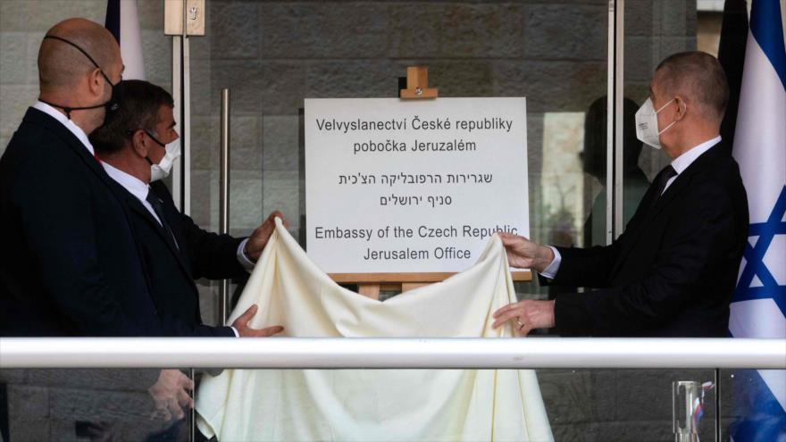 La República Checa inaugura una sede diplomática en Al-Quds   HISPANTV