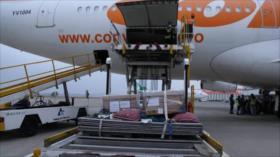 Llegan a Irán 100 000 dosis de vacuna cubana contra COVID-19