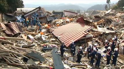 Japón conmemora el décimo aniversario del fuerte terremoto en 2011