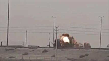 Vídeo: Atacan otros cuatro convoyes de EEUU en solo un día en Irak