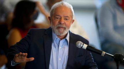 'Lula ganaría comicios de 2022 con 6 puntos más que Bolsonaro'
