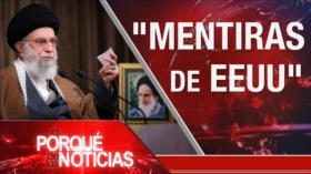 """El Porqué de las Noticias: Discurso del líder. Violencia armada en EEUU. """"Informe infundado"""" de la ONU"""