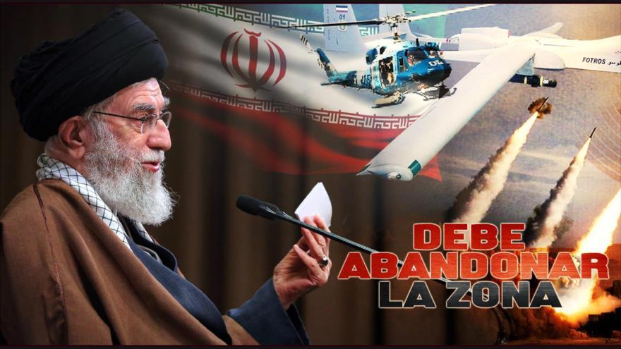 Detrás de la Razón: El ayatolá Seyed Ali Jameneí dice que tropas estadounidenses deben abandonar la región