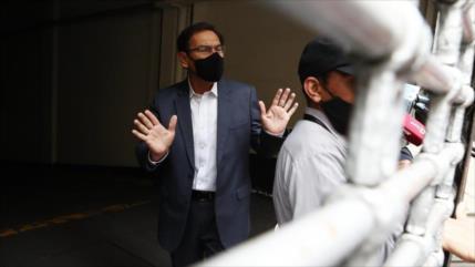 Piden 18 meses de prisión preventiva para Vizcarra por sobornos